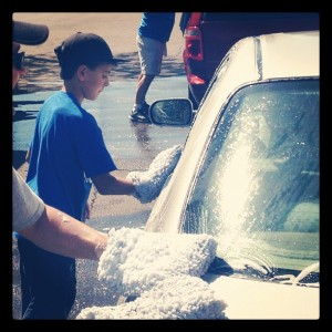 Carwash benefit for Boyscout troop 203